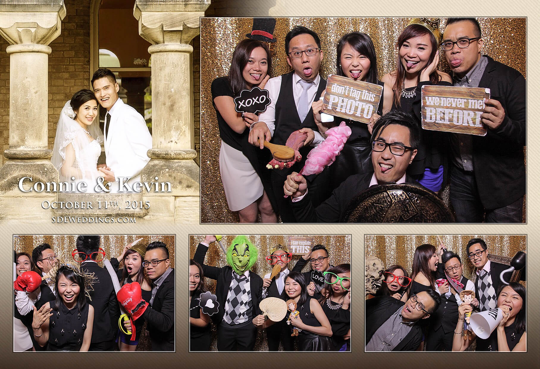 Toronto Chinese Wedding Photo Booth Rental 6