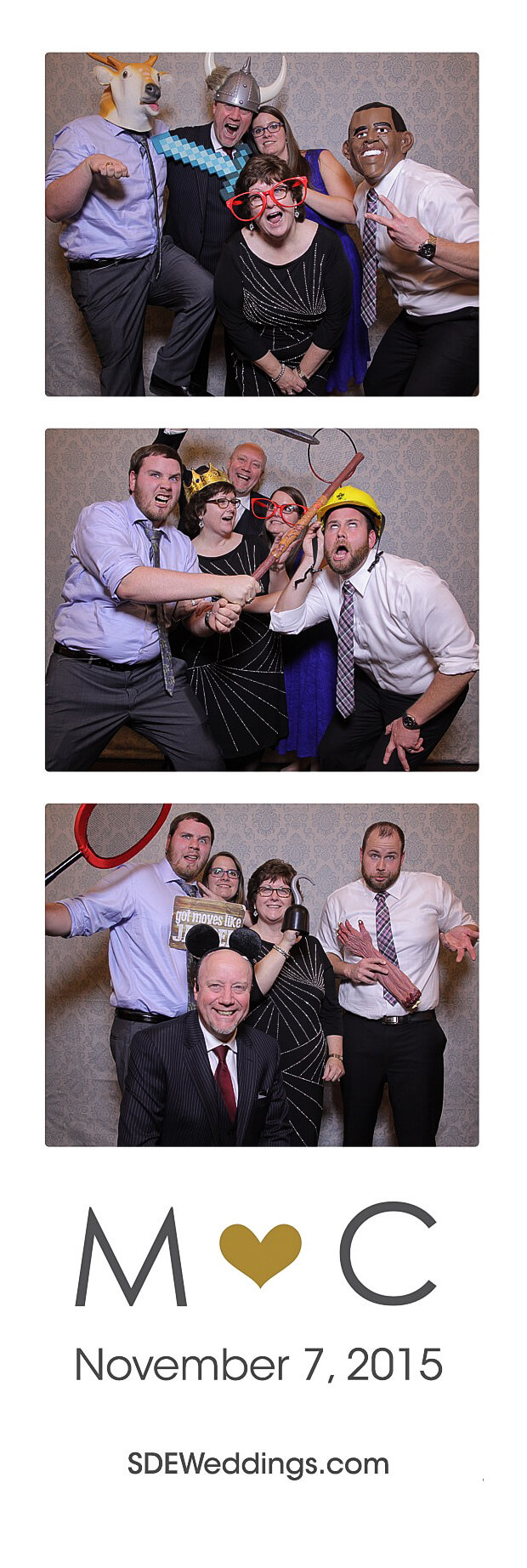The Club at Bond Head Wedding Photo Booth Rental 11