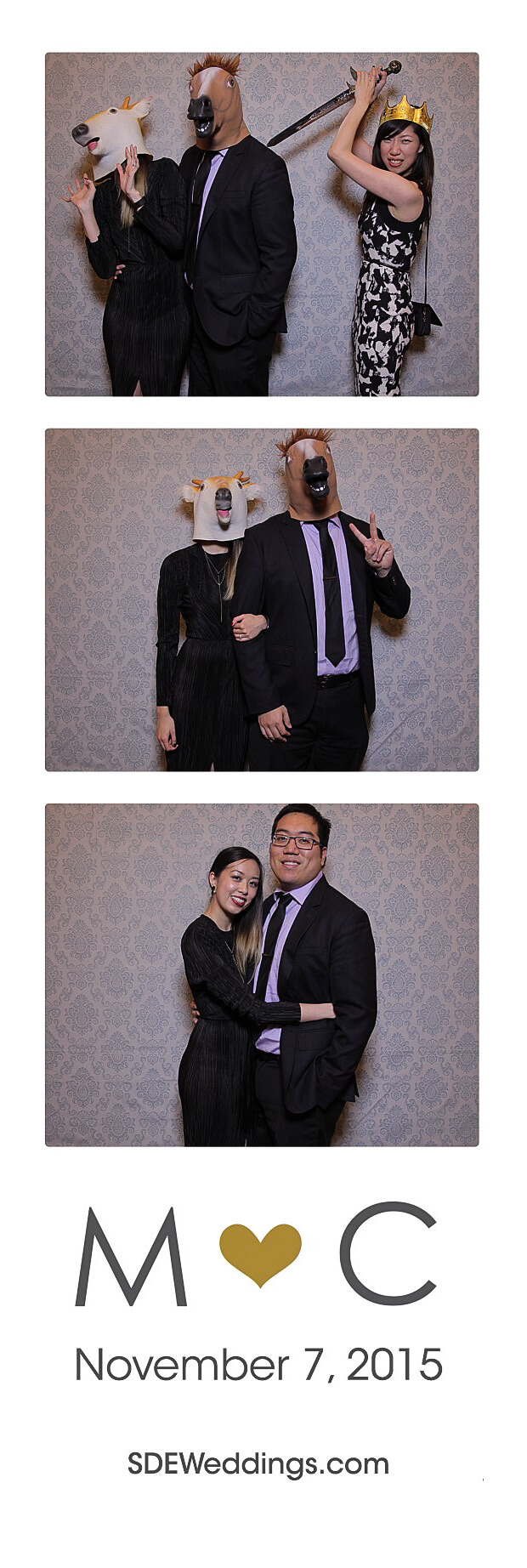 The Club at Bond Head Wedding Photo Booth Rental 13