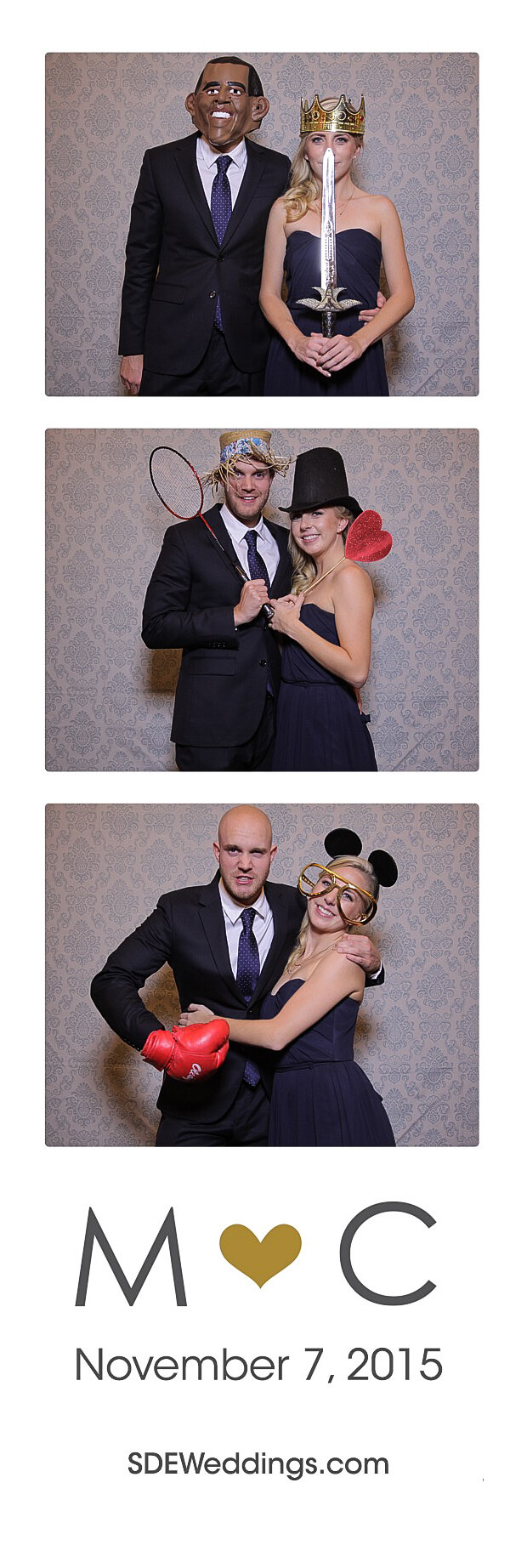 The Club at Bond Head Wedding Photo Booth Rental 14
