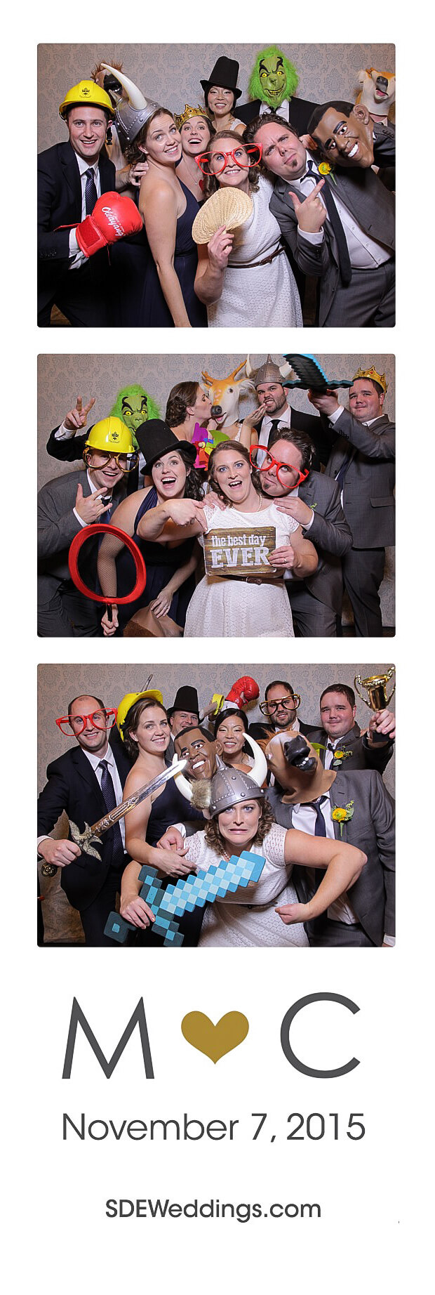 The Club at Bond Head Wedding Photo Booth Rental 16