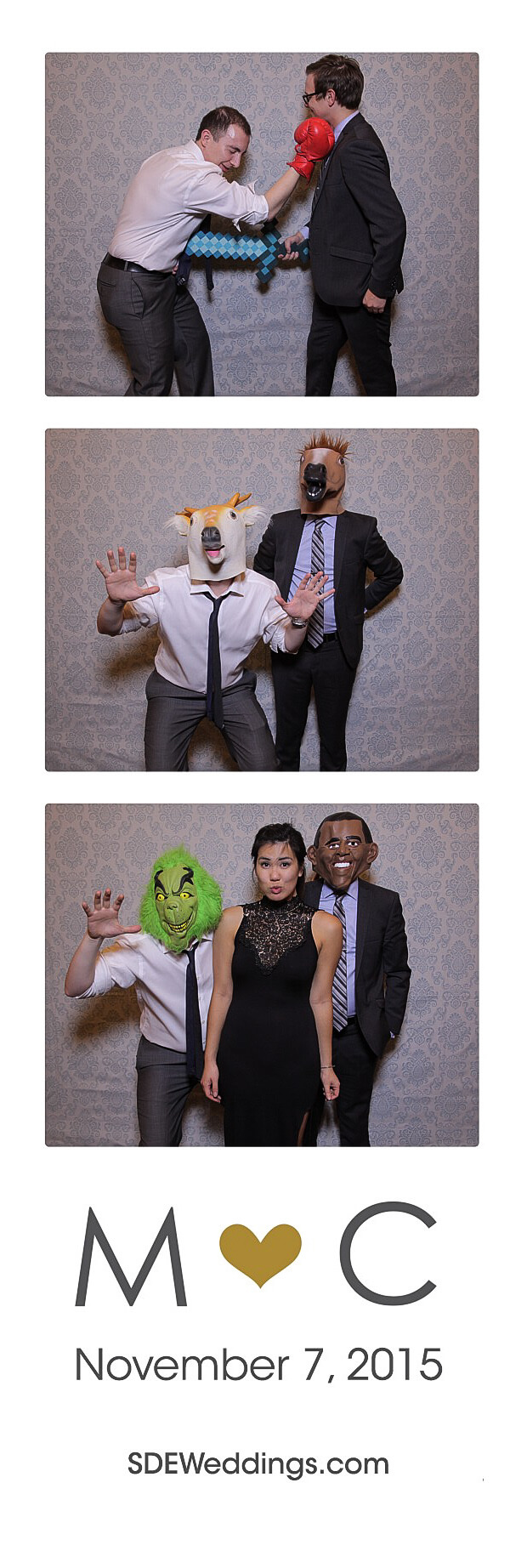 The Club at Bond Head Wedding Photo Booth Rental 2