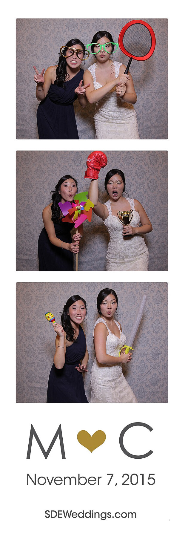 The Club at Bond Head Wedding Photo Booth Rental 5