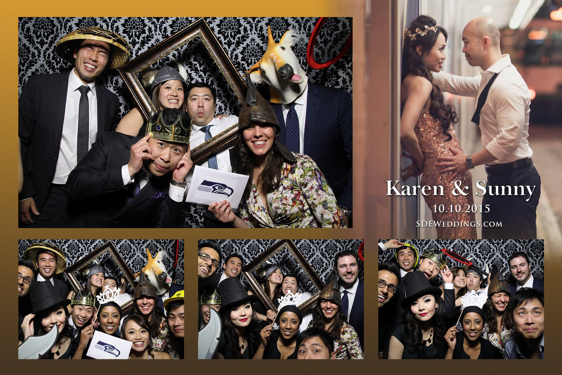 Toronto Fantasy Farm Wedding Photo Booth Rental 1
