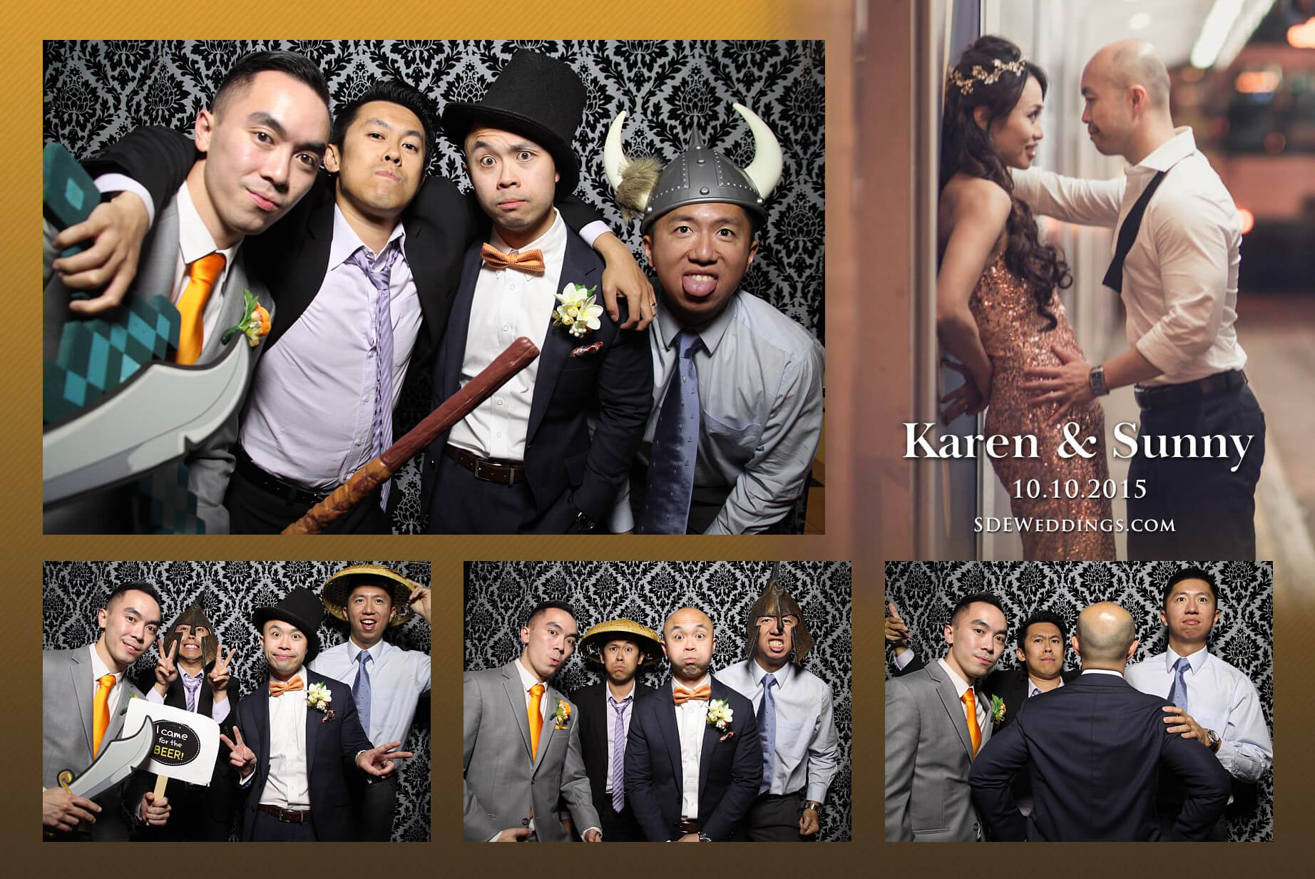Toronto Fantasy Farm Wedding Photo Booth Rental 10