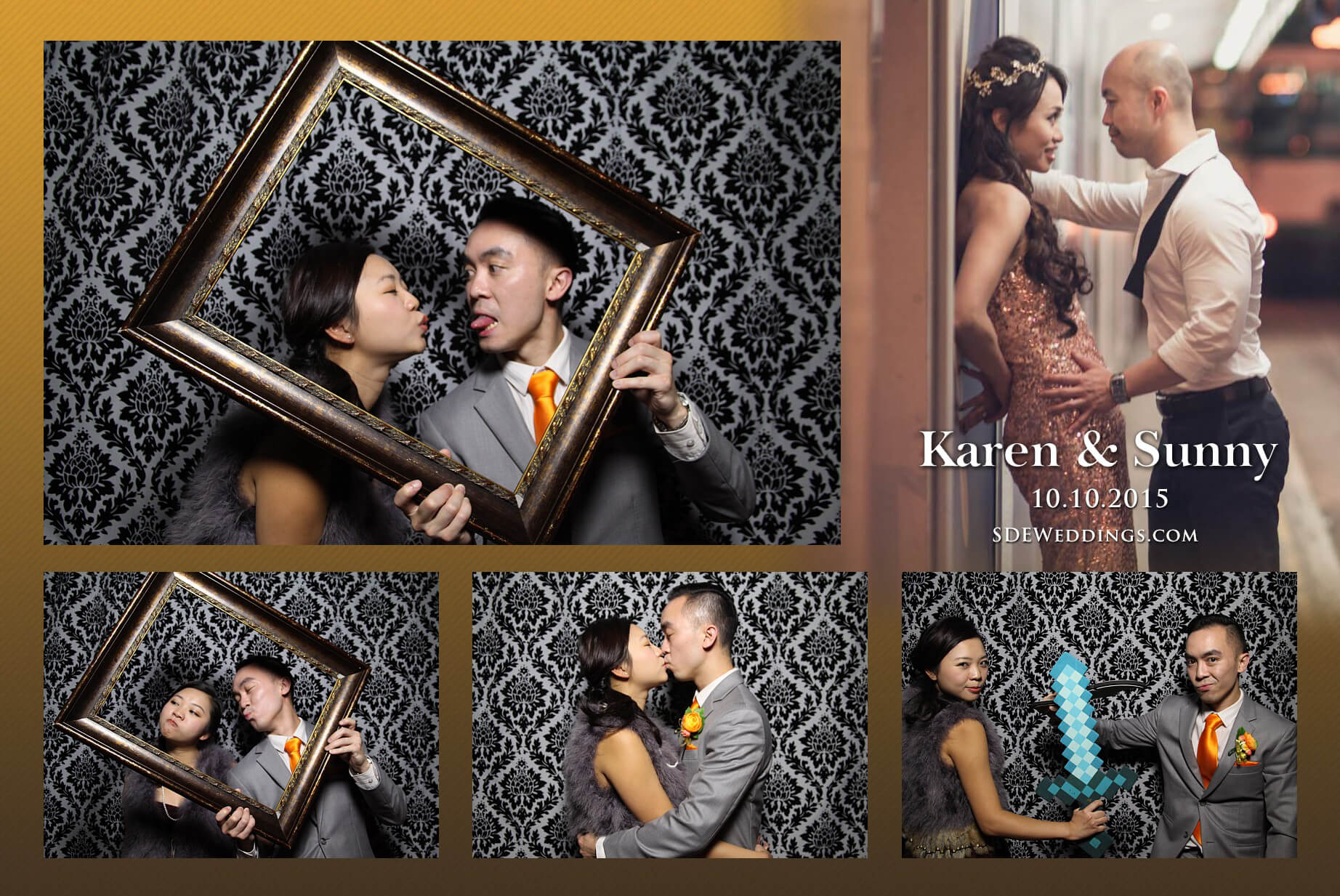 Toronto Fantasy Farm Wedding Photo Booth Rental 3