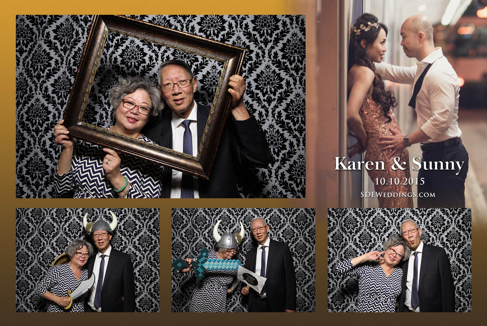 Toronto Fantasy Farm Wedding Photo Booth Rental 4