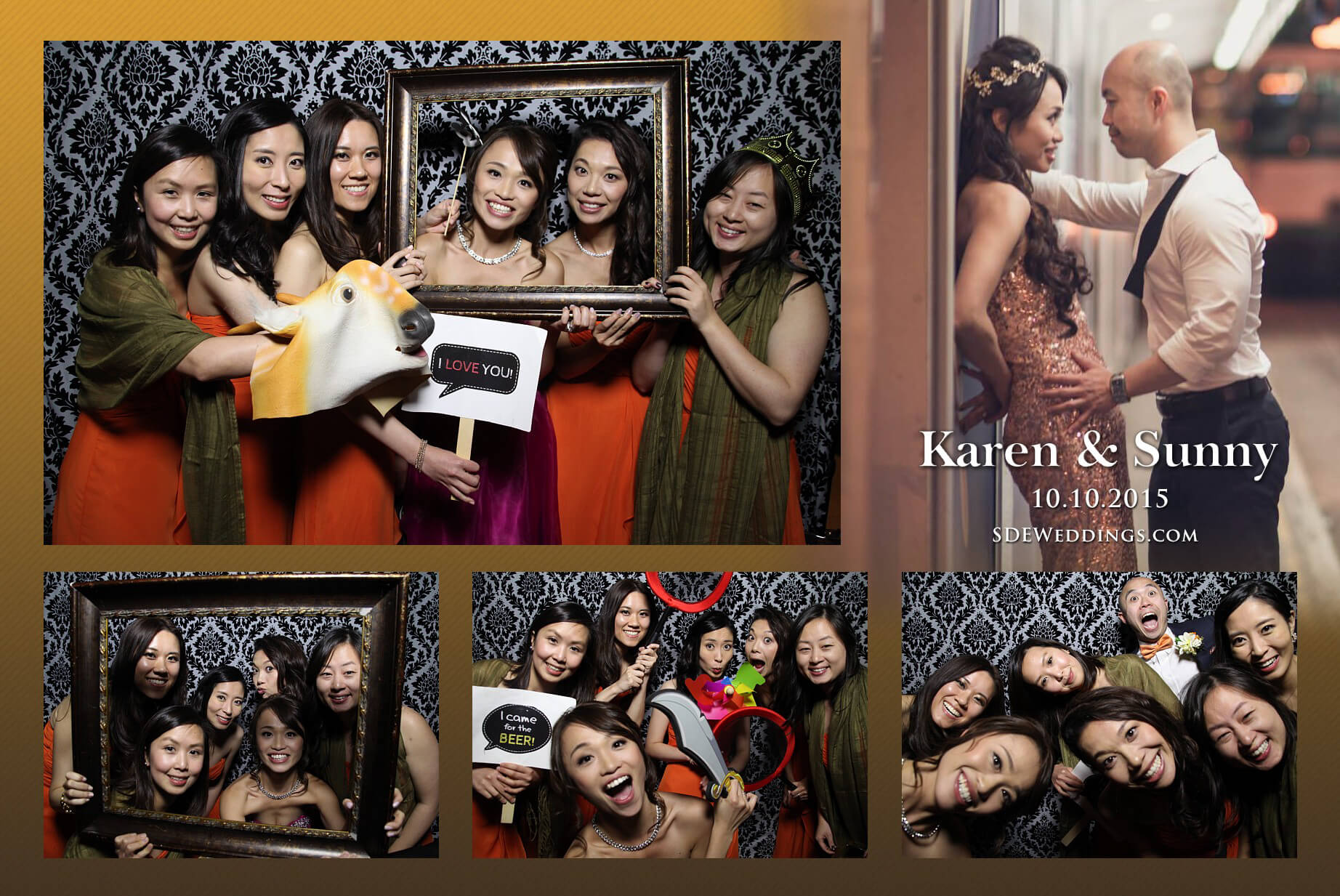 Toronto Fantasy Farm Wedding Photo Booth Rental 6