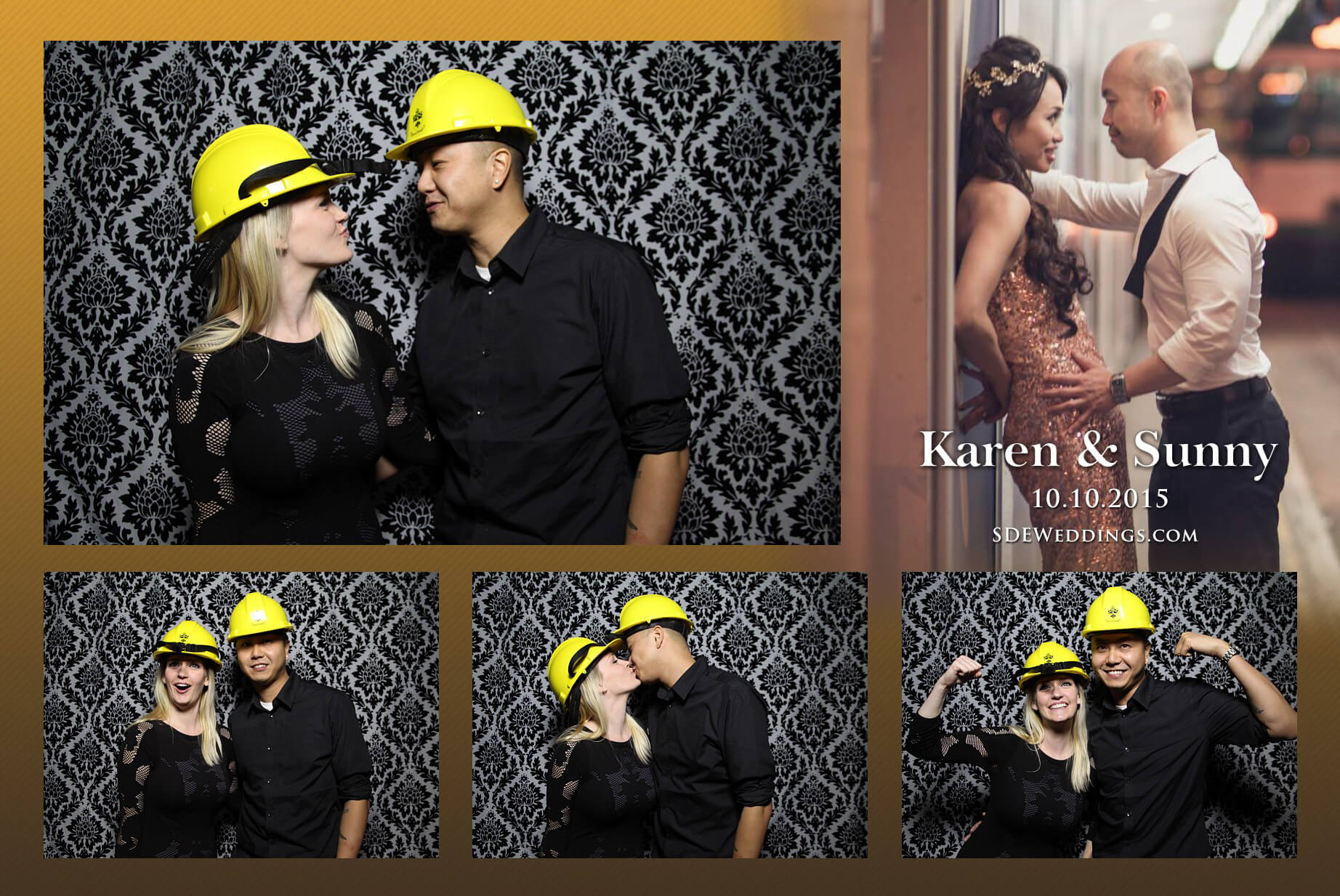 Toronto Fantasy Farm Wedding Photo Booth Rental 9