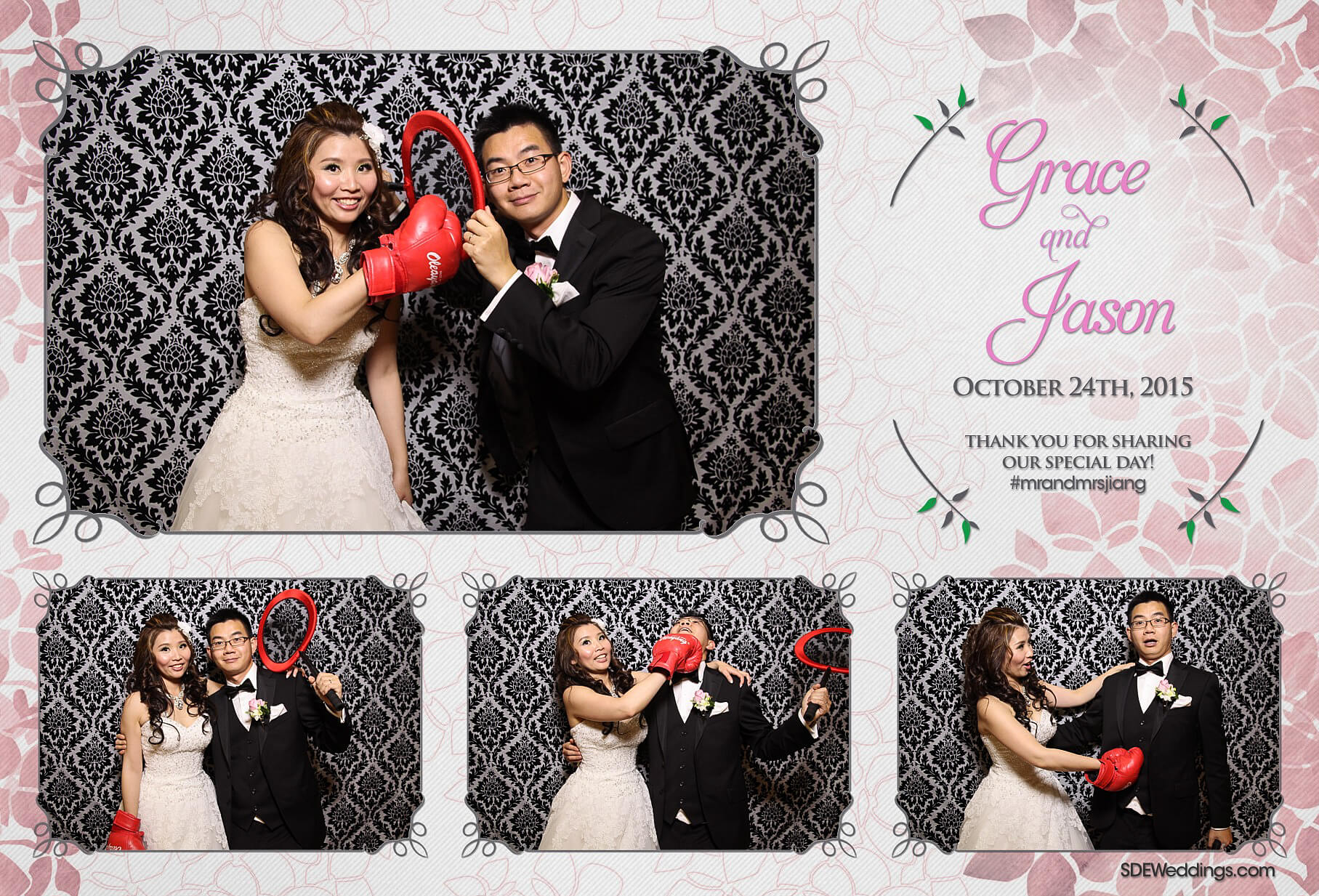 Toronto Le Parc Conference & Banquet Hall Wedding Photo Booth Rental 1
