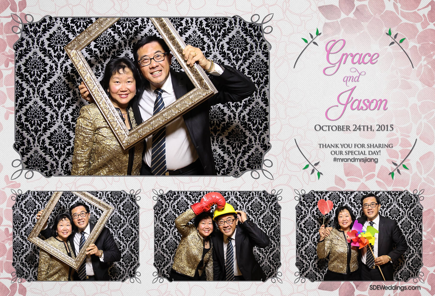 Toronto Le Parc Conference & Banquet Hall Wedding Photo Booth Rental 3