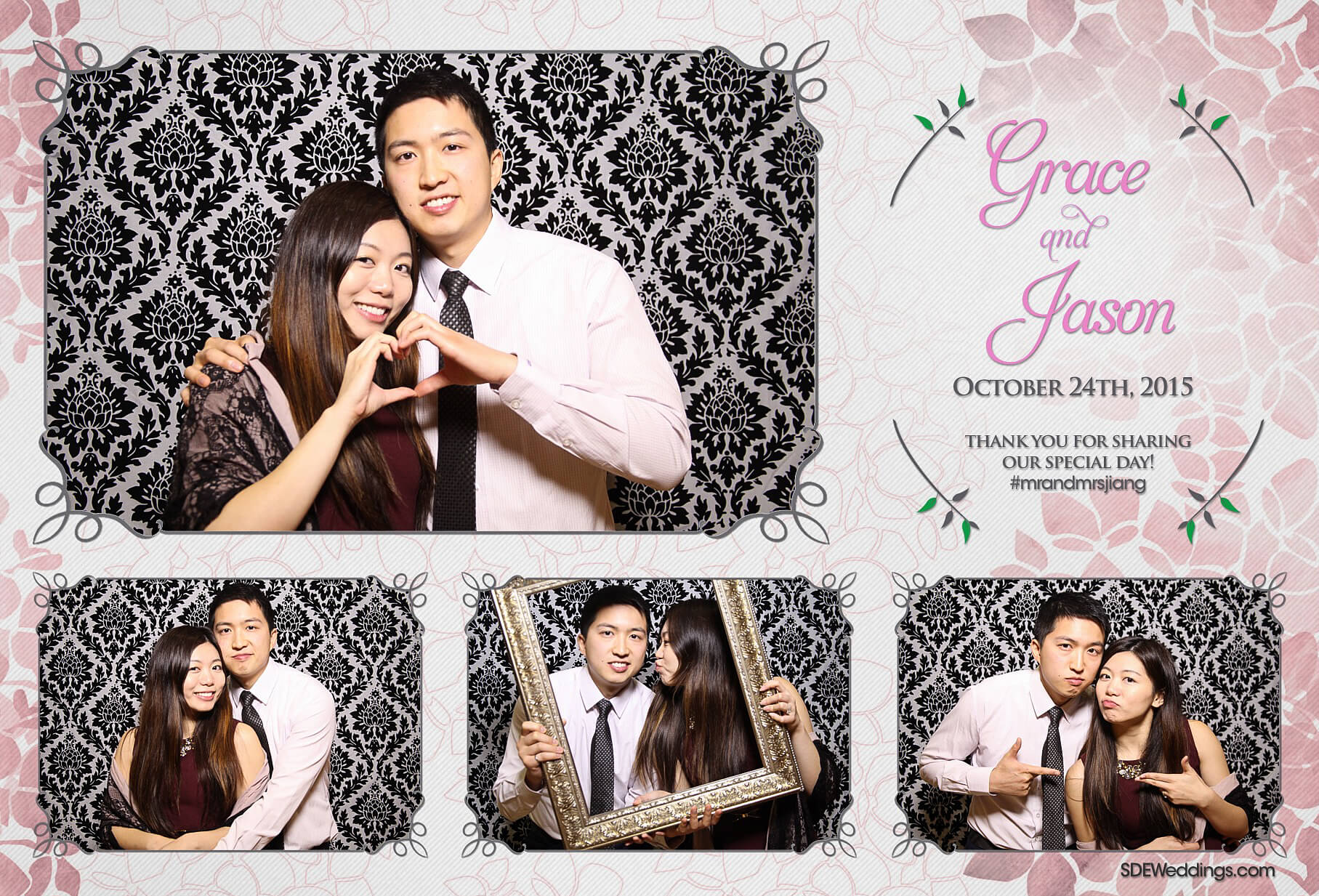 Toronto Le Parc Conference & Banquet Hall Wedding Photo Booth Rental 7