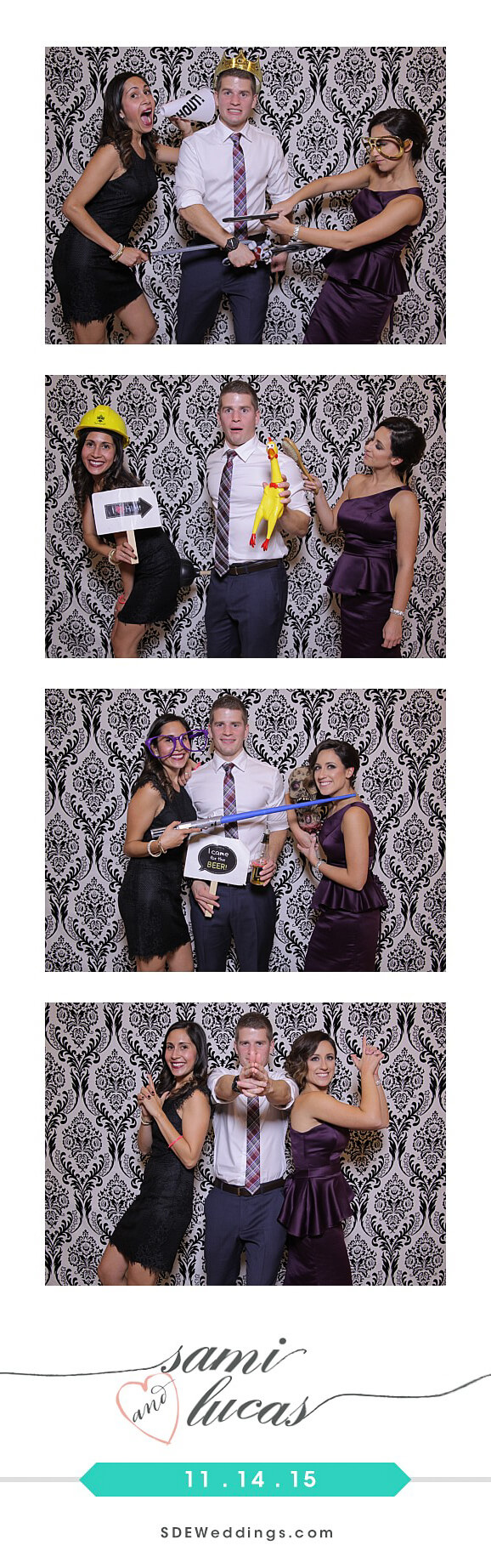 Toronto Paradise Banquet Hall Wedding Photo Booth Rental 1
