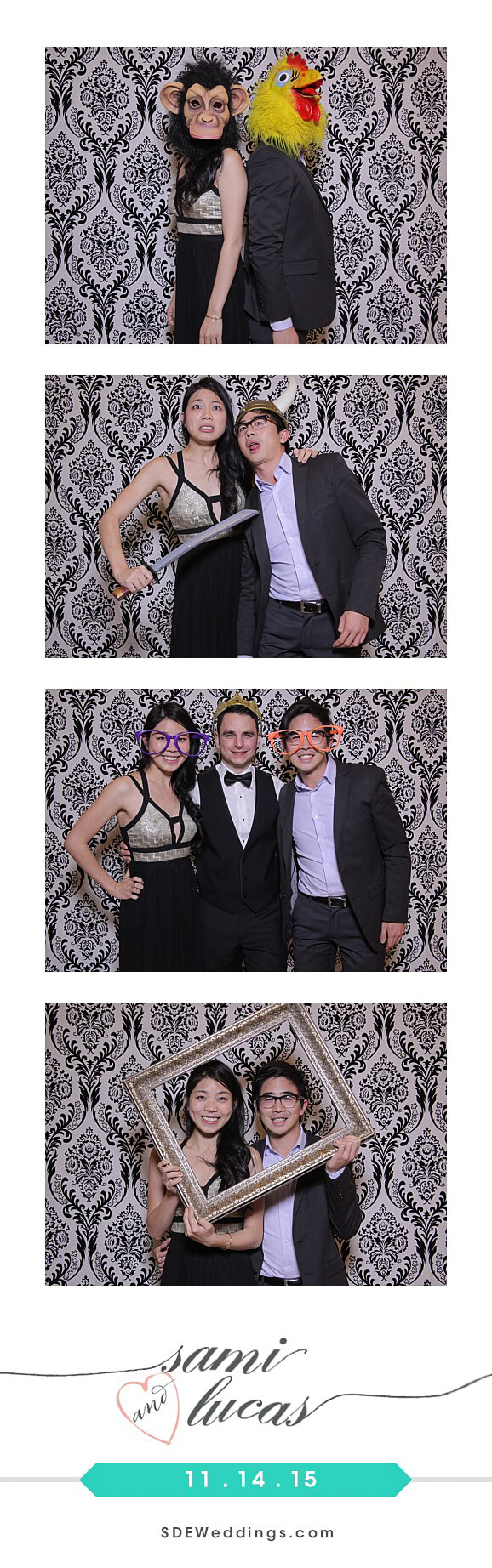 Toronto Paradise Banquet Hall Wedding Photo Booth Rental 10