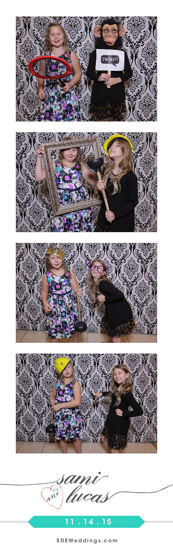 Toronto Paradise Banquet Hall Wedding Photo Booth Rental 11
