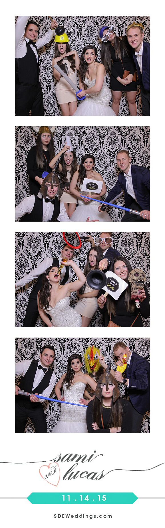 Toronto Paradise Banquet Hall Wedding Photo Booth Rental 2