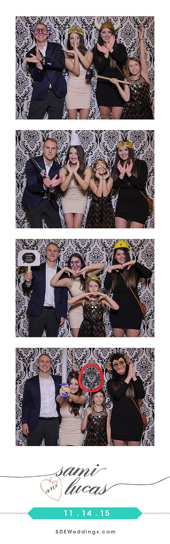 Toronto Paradise Banquet Hall Wedding Photo Booth Rental 4