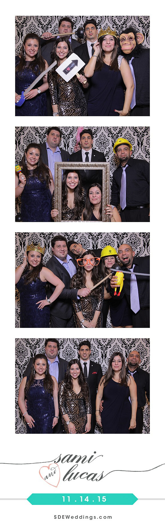 Toronto Paradise Banquet Hall Wedding Photo Booth Rental 7