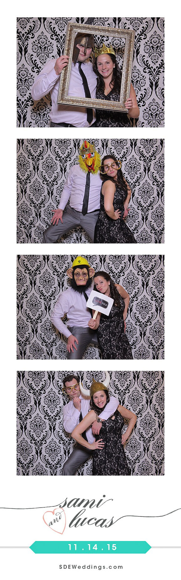 Toronto Paradise Banquet Hall Wedding Photo Booth Rental 9