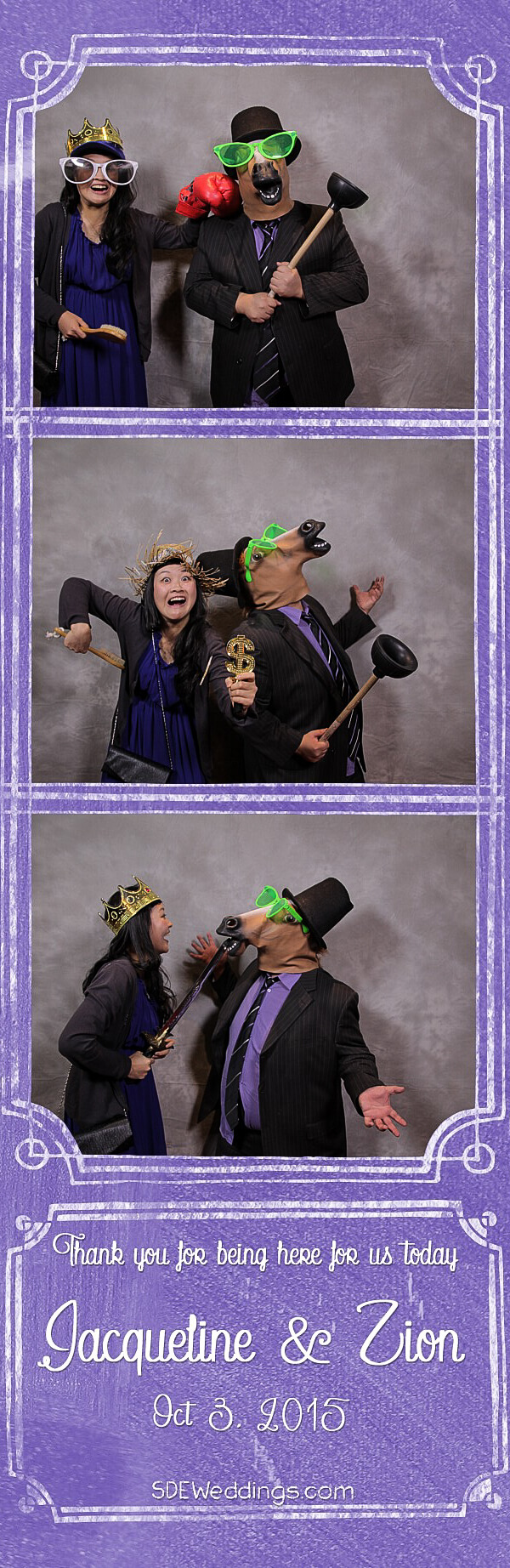 Toronto Richmond Hill Golf & Country Club Wedding Photo Booth Rental 1