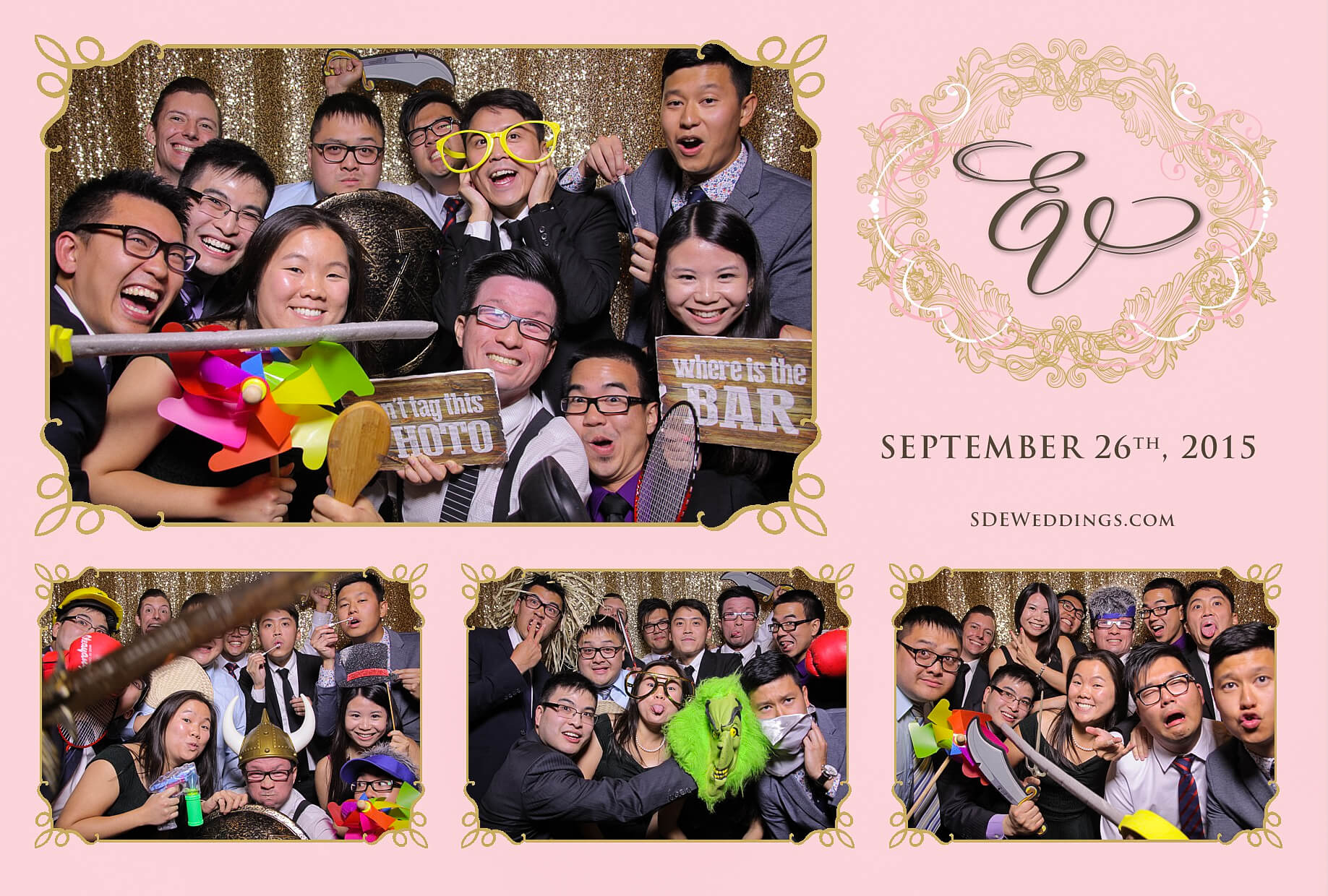 Toronto Ritz-Carlton Wedding Photo Booth Rental 1