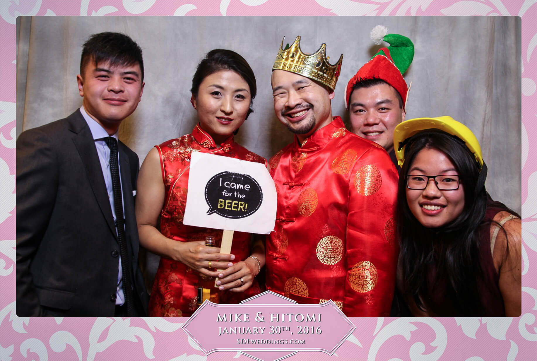 Toronto Spring Villa Wedding Photo Booth Rental 1