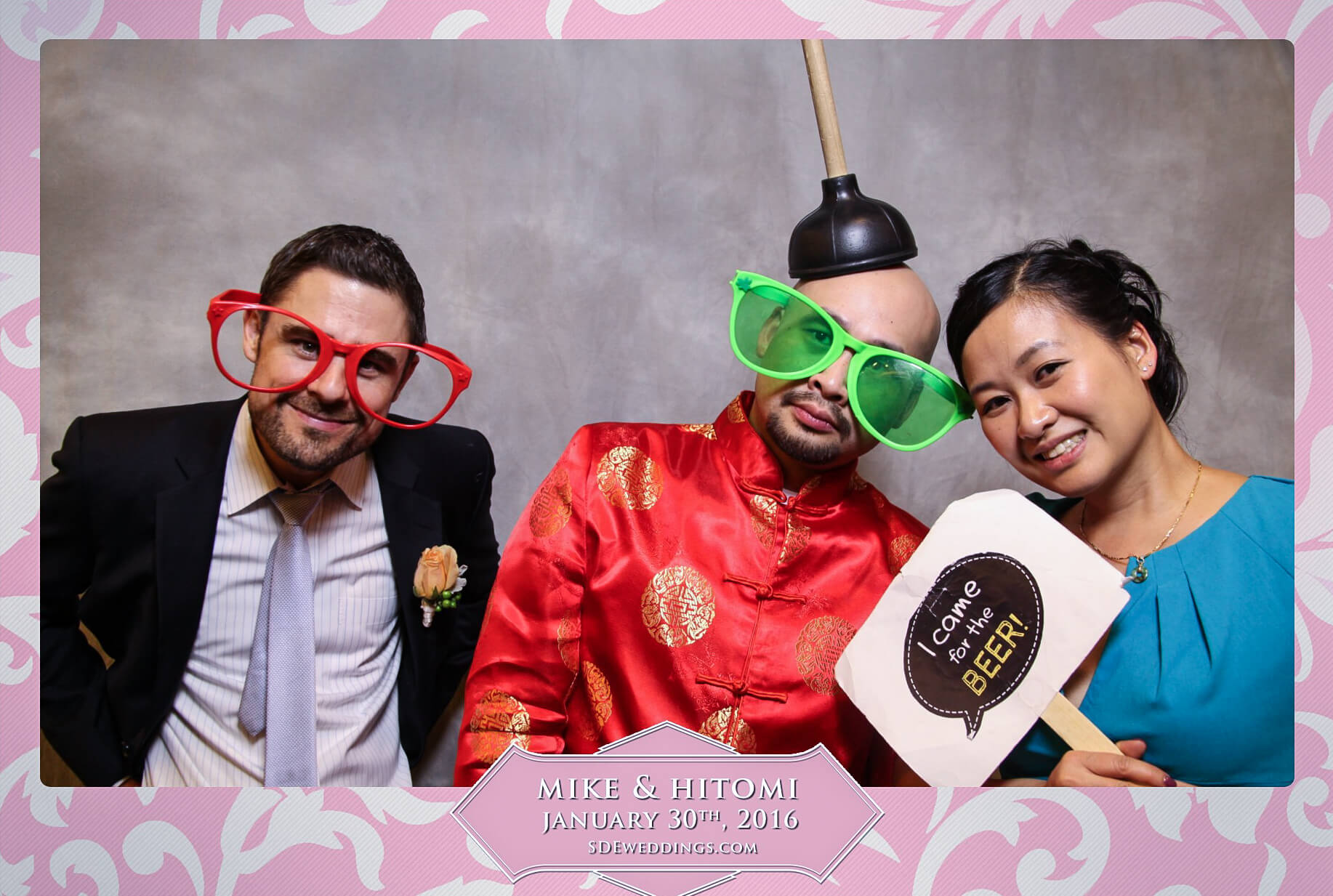 Toronto Spring Villa Wedding Photo Booth Rental 10