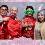 Toronto Spring Villa Wedding Photo Booth Rental