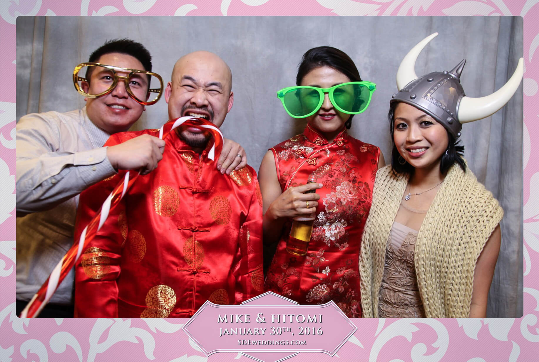 Toronto Spring Villa Wedding Photo Booth Rental 2