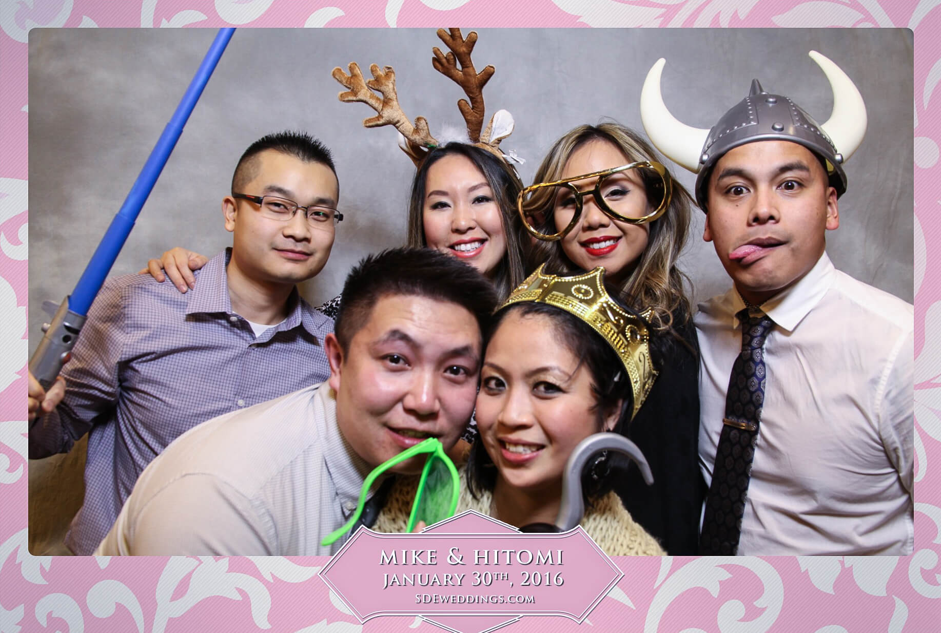Toronto Spring Villa Wedding Photo Booth Rental 3