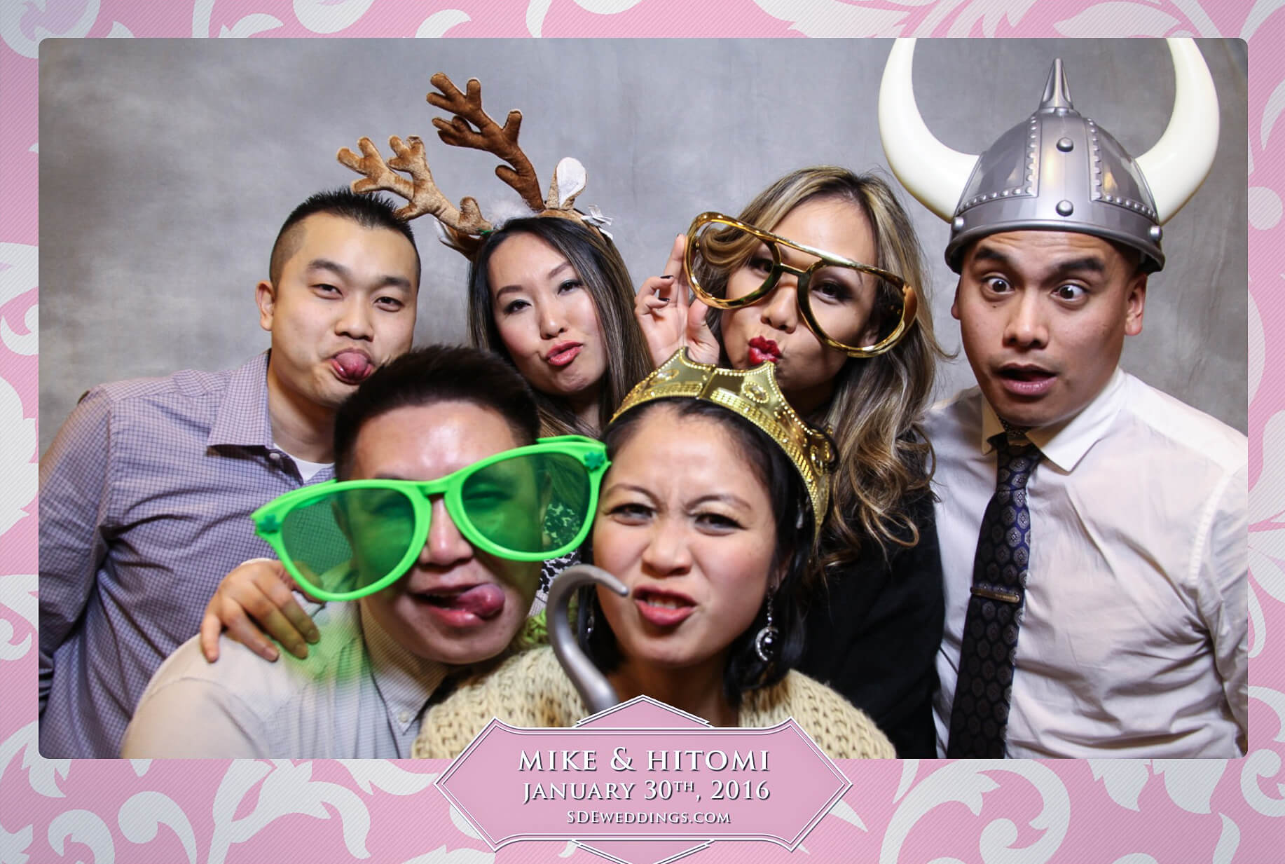 Toronto Spring Villa Wedding Photo Booth Rental 4