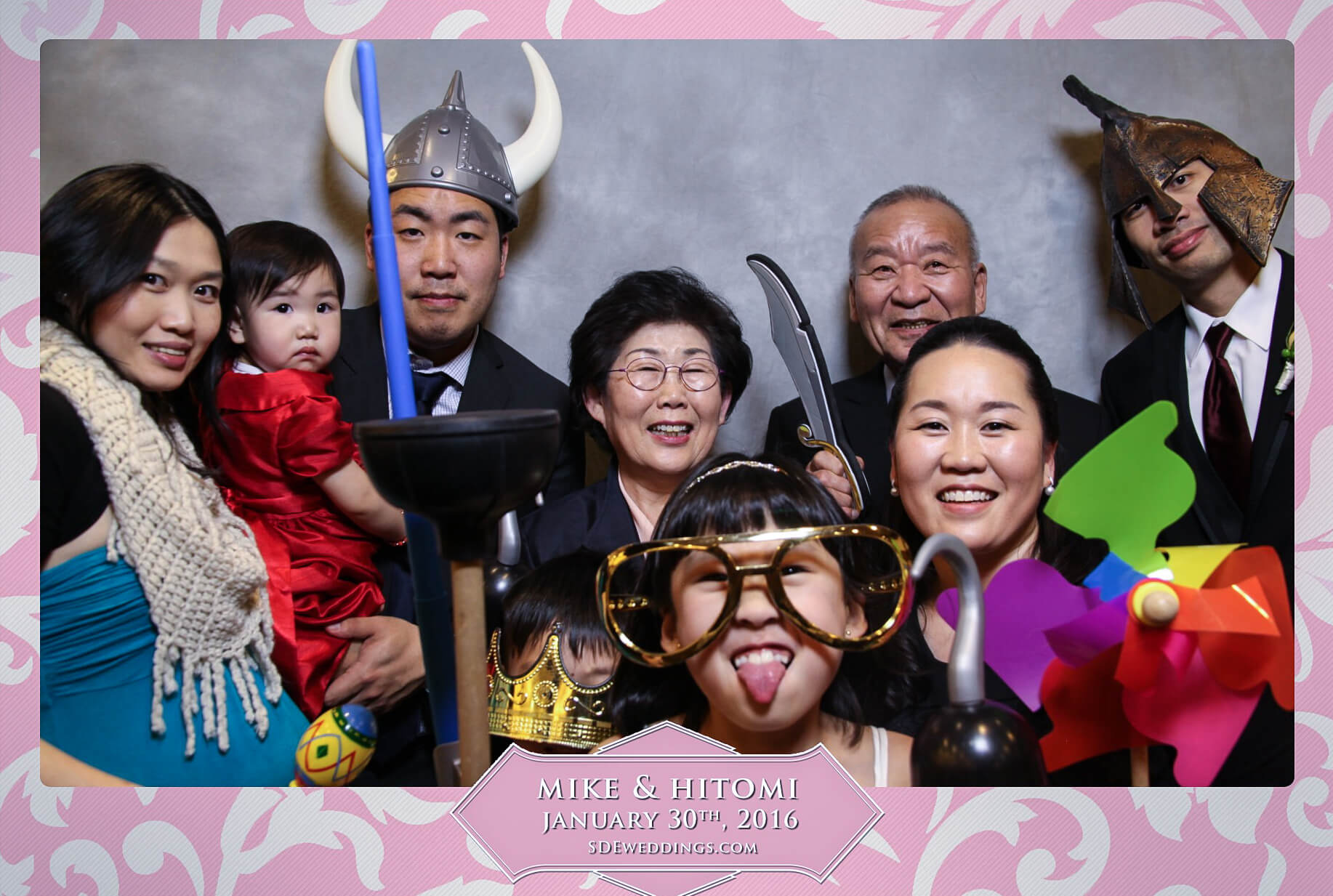 Toronto Spring Villa Wedding Photo Booth Rental 5