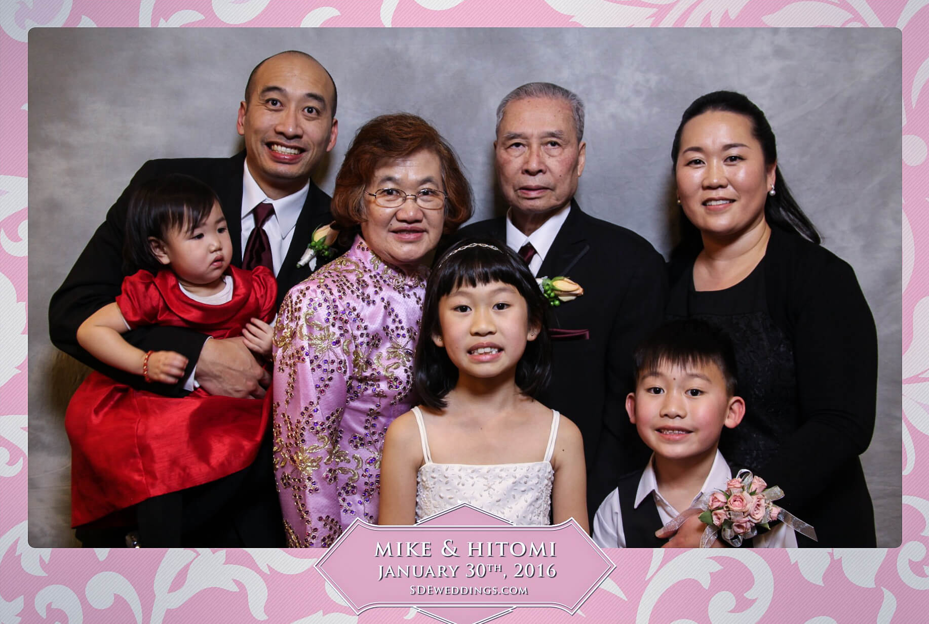 Toronto Spring Villa Wedding Photo Booth Rental 7