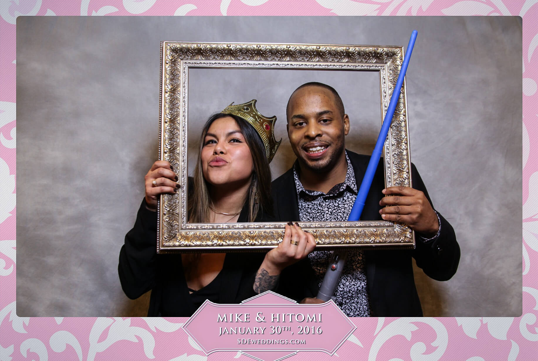 Toronto Spring Villa Wedding Photo Booth Rental 8