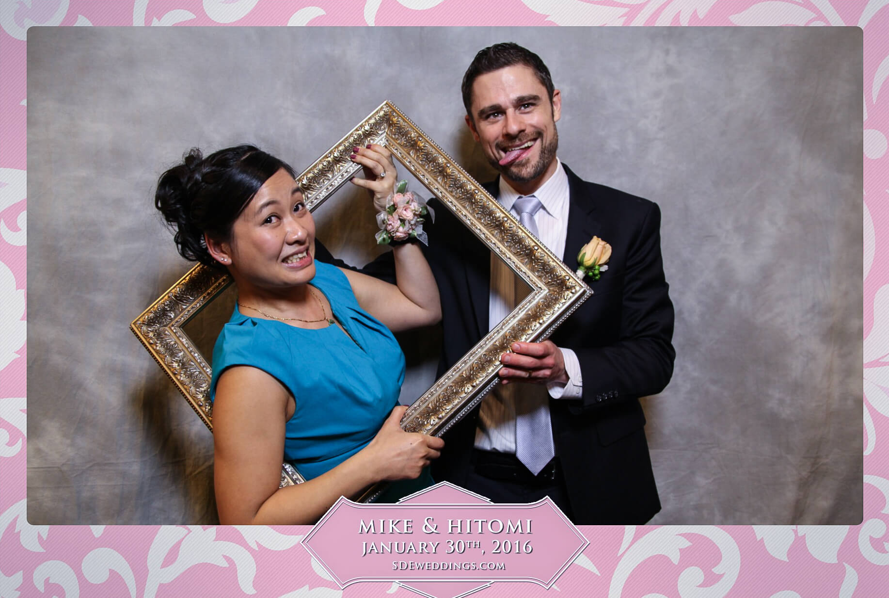 Toronto Spring Villa Wedding Photo Booth Rental 9