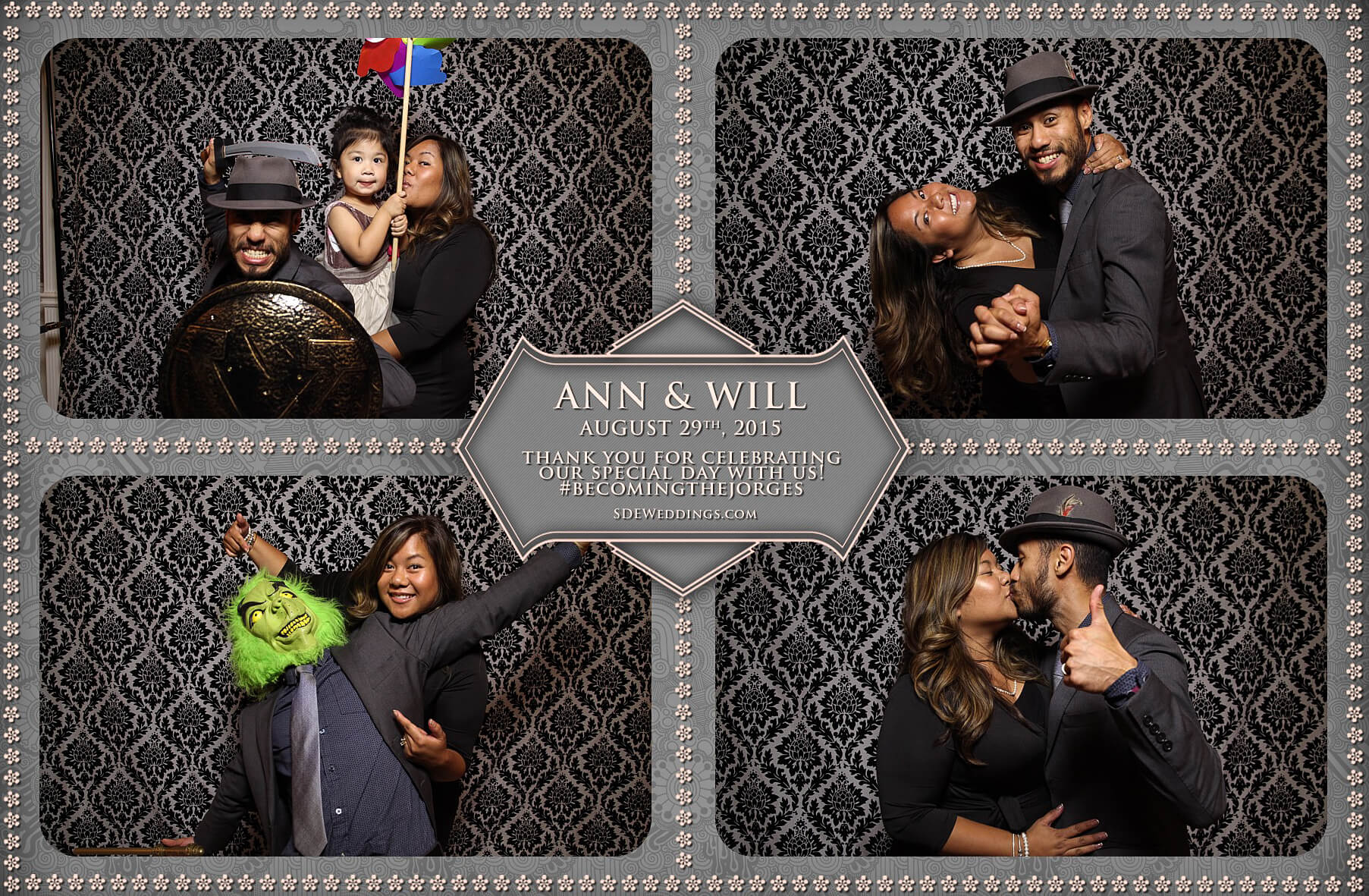 Toronto Wedding Photo Booth at Destiny Banquet Hall 8