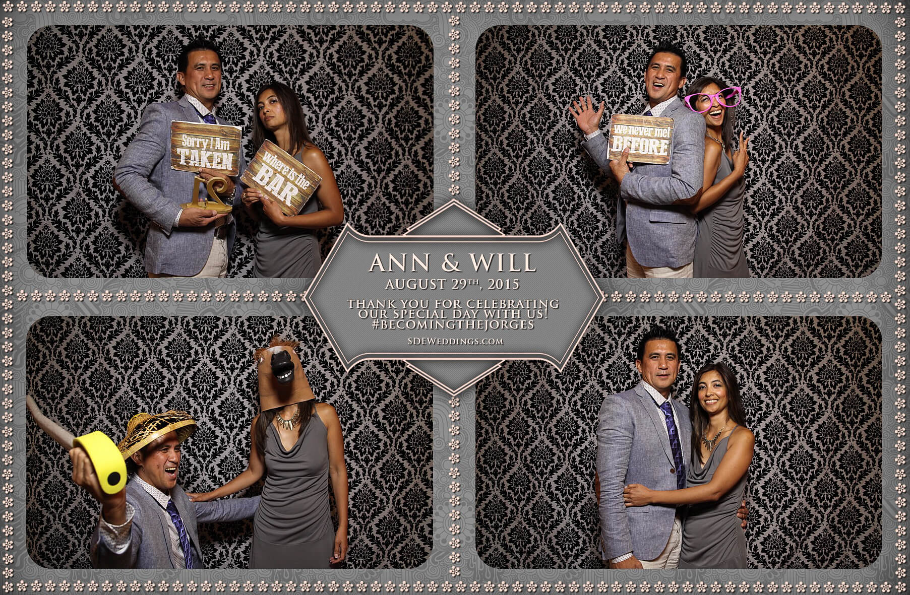 Toronto Wedding Photo Booth at Destiny Banquet Hall 12