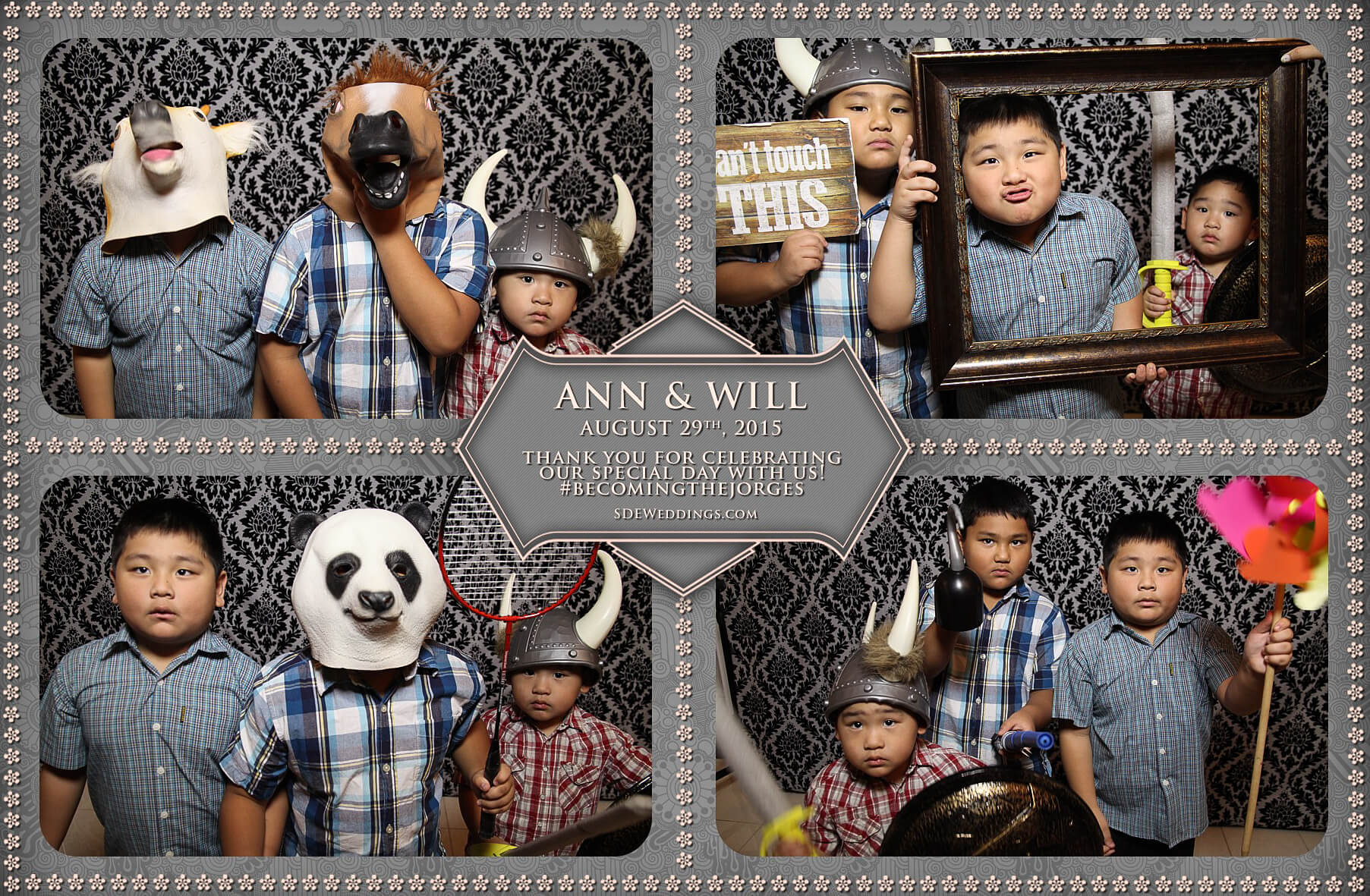 Toronto Wedding Photo Booth at Destiny Banquet Hall 2