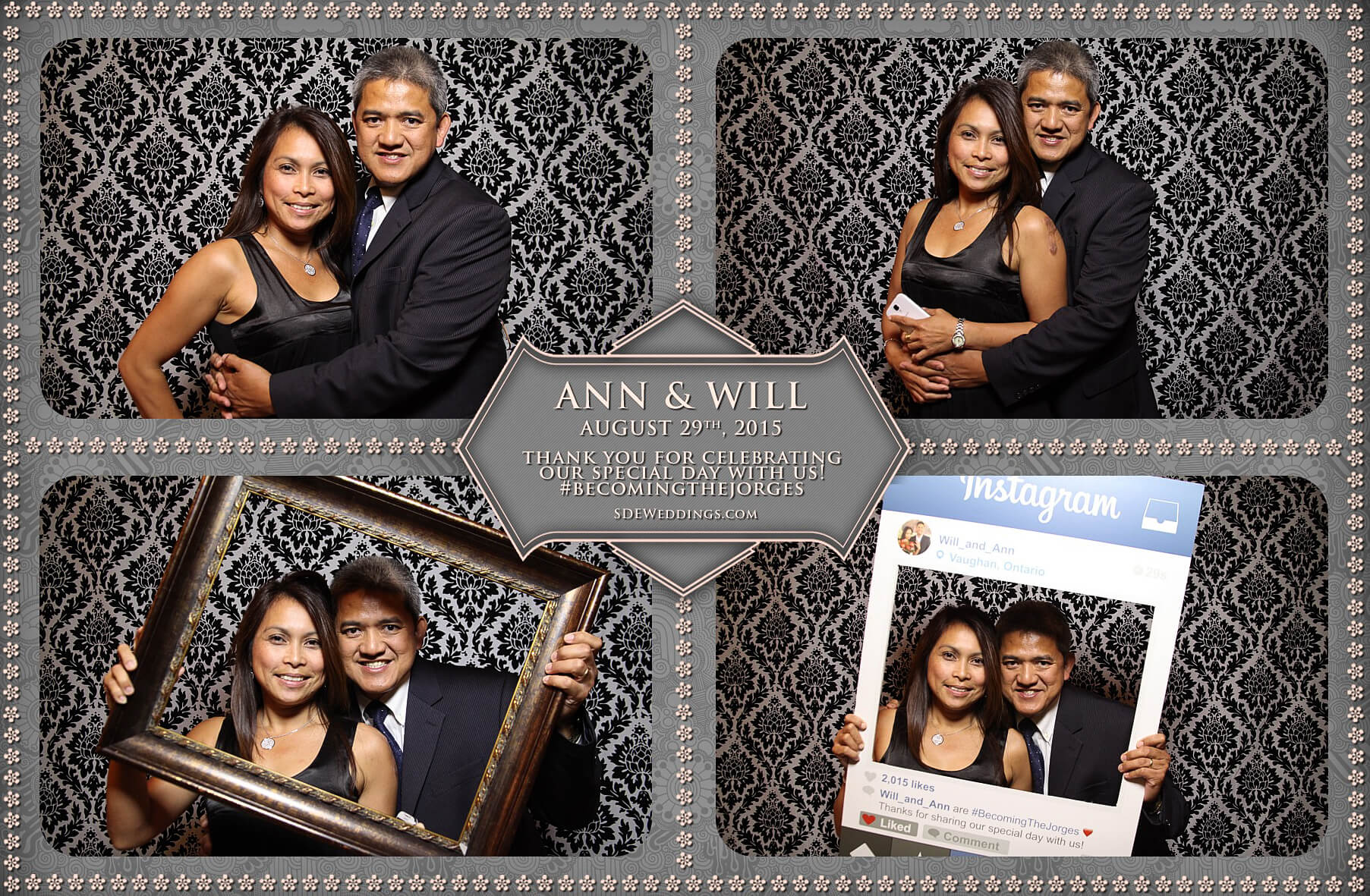 Toronto Wedding Photo Booth at Destiny Banquet Hall 4