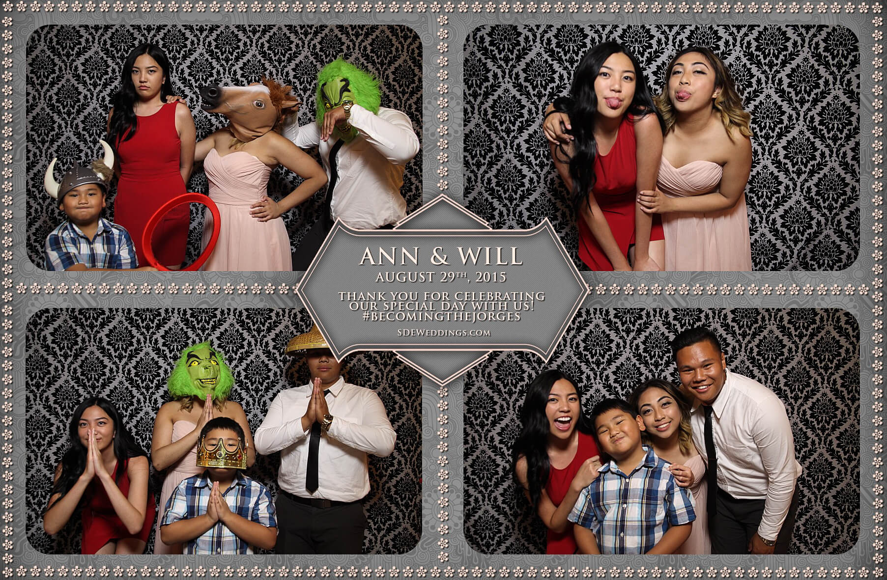 Toronto Wedding Photo Booth at Destiny Banquet Hall 3