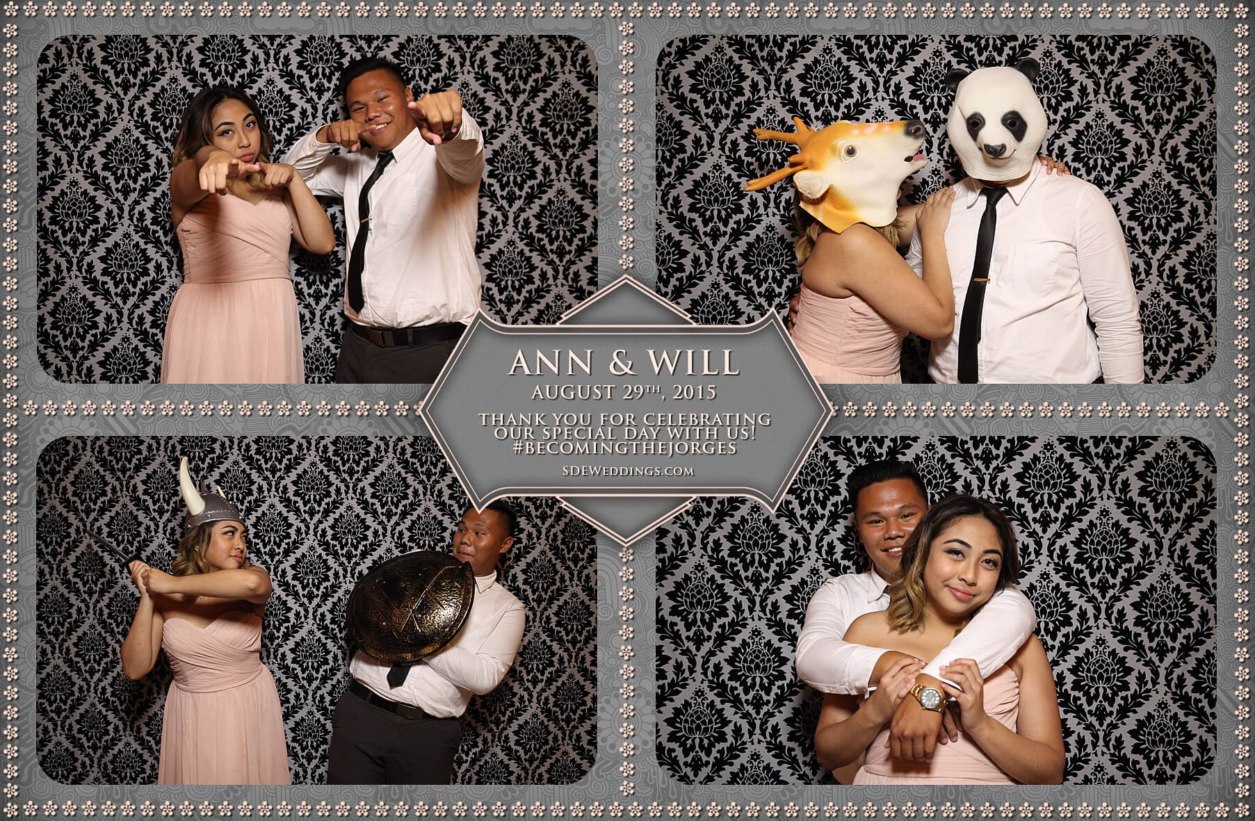 Toronto Wedding Photo Booth at Destiny Banquet Hall 5