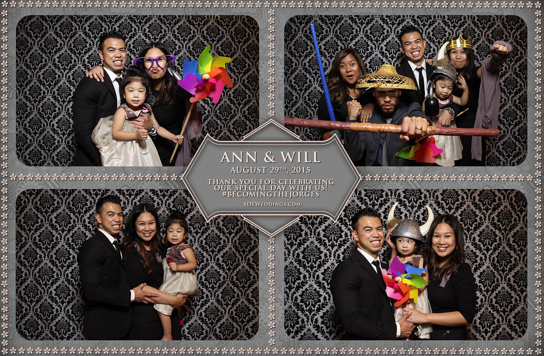 Toronto Wedding Photo Booth at Destiny Banquet Hall 7