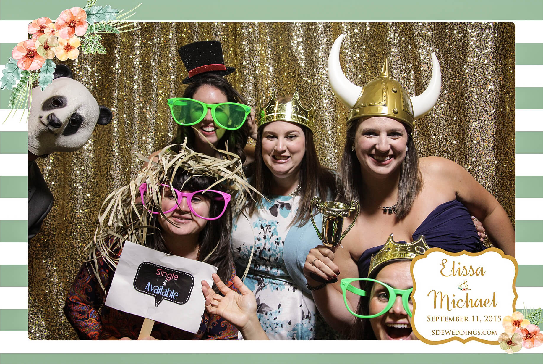 Wedding Photo Booth Rental Toronto at Bayview Golf and Country Club 1