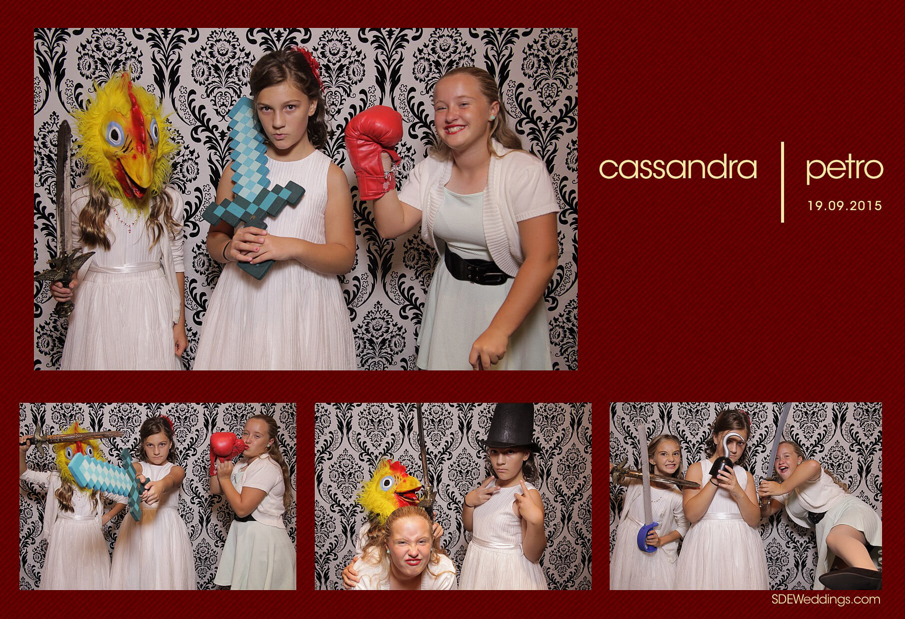 Wedding Photo Booth Rental at the Oakville Conference and Banquet Centre 11
