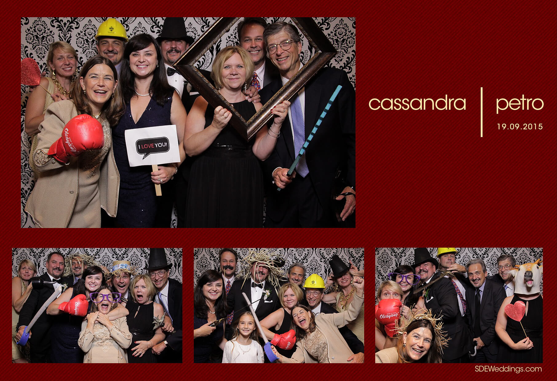 Wedding Photo Booth Rental at the Oakville Conference and Banquet Centre 12