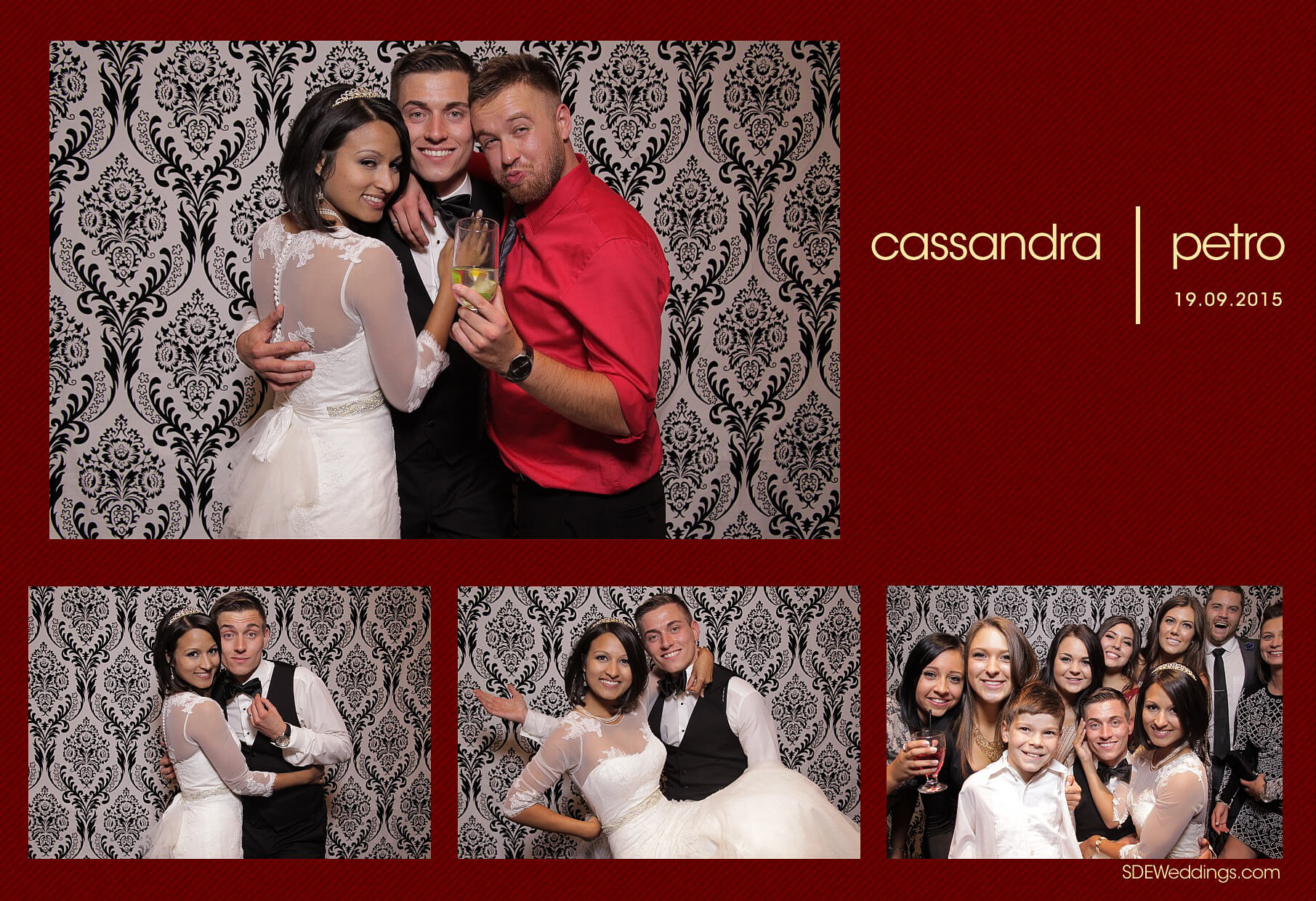 Wedding Photo Booth Rental at the Oakville Conference and Banquet Centre 2