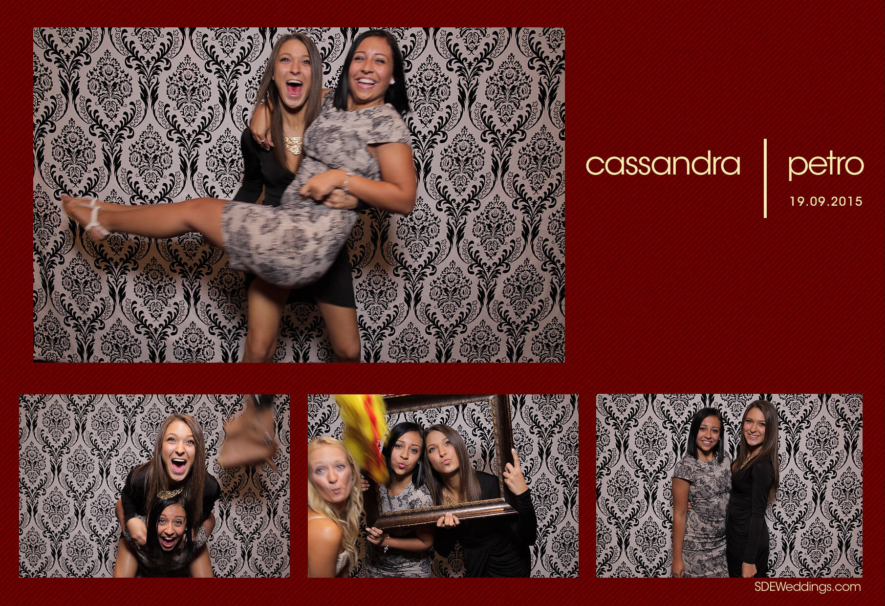 Wedding Photo Booth Rental at the Oakville Conference and Banquet Centre 3
