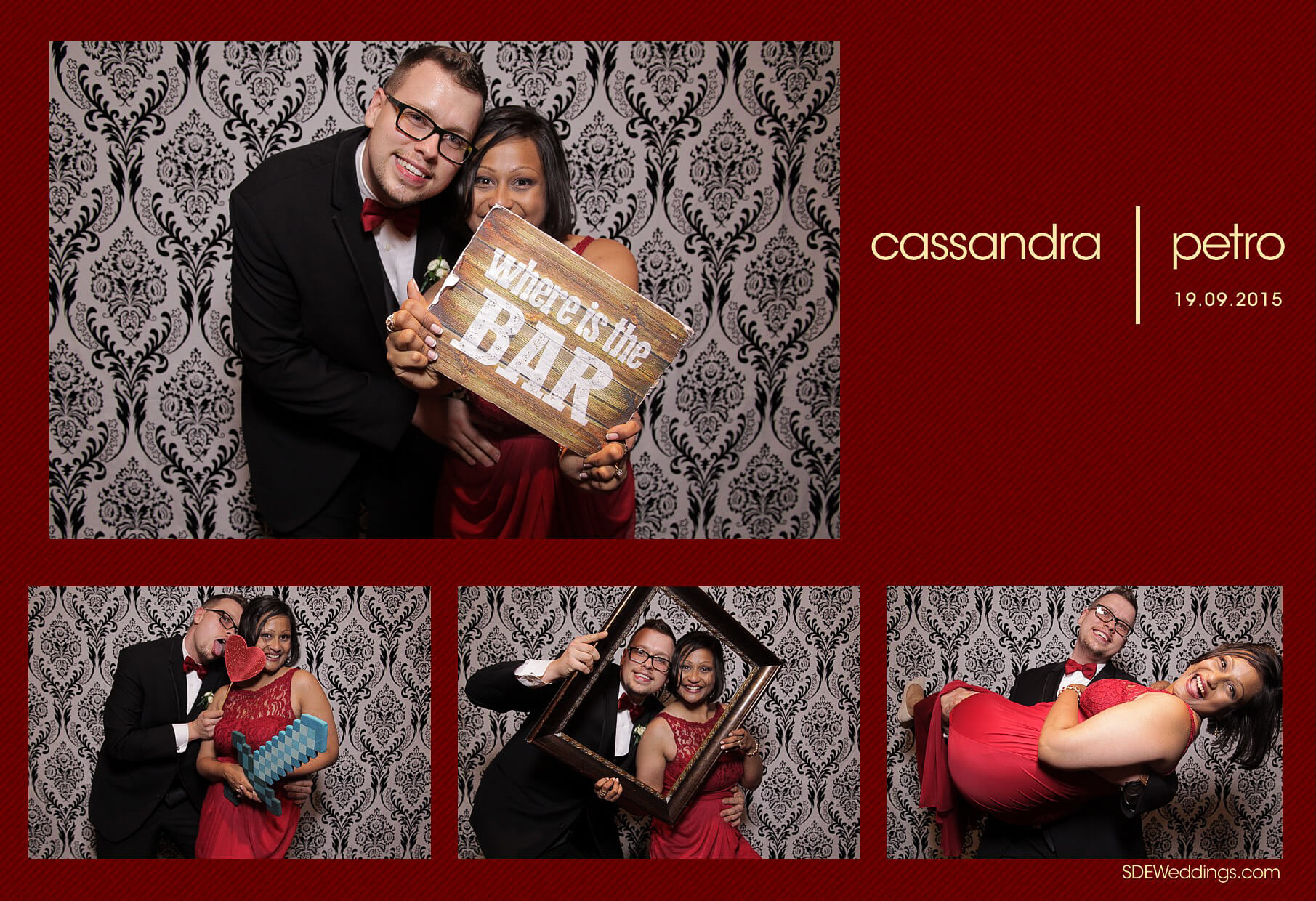 Wedding Photo Booth Rental at the Oakville Conference and Banquet Centre 4