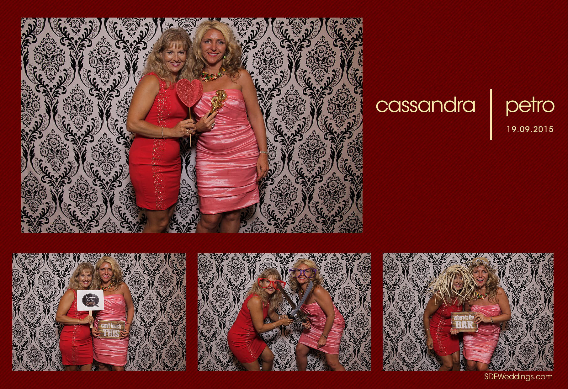 Wedding Photo Booth Rental at the Oakville Conference and Banquet Centre 5