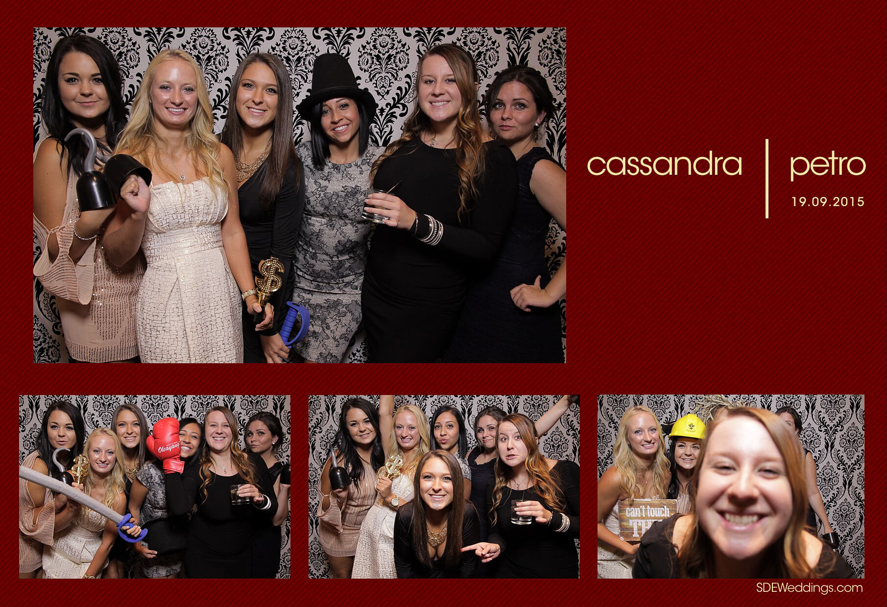 Wedding Photo Booth Rental at the Oakville Conference and Banquet Centre 6